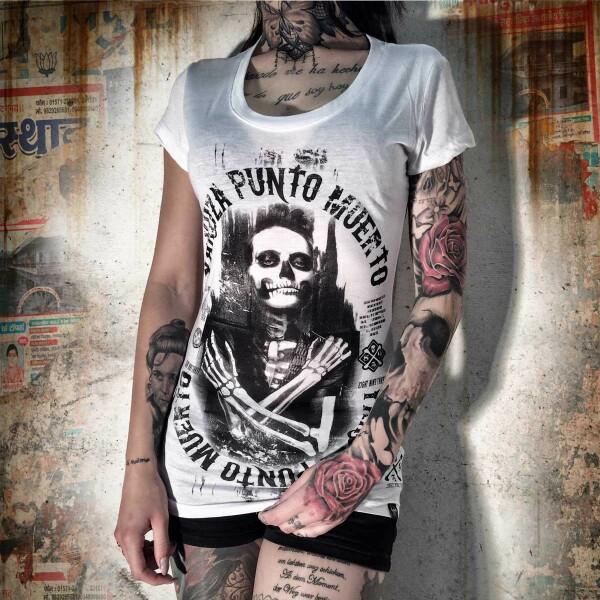 ac94049fa0a9 Yakuza Dámské tričko YK GSB612 white - Yakuza Store